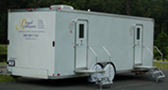 Ten Stall Exterior Event Restroom Trailer