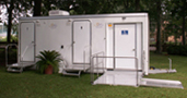 portable toilets handicaped trailers